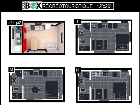plan de coolbox récréative