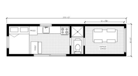 Plan 2D Coolbox de Chasse