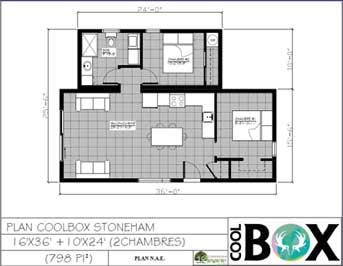 plan 2d coolbox - stoneham