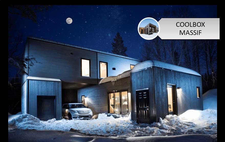 Maison Coolbox - Massif