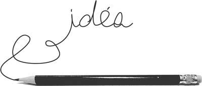 crayon idée
