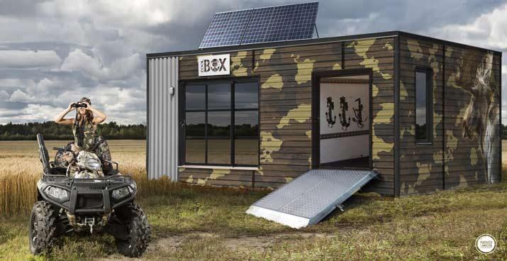 coolbox de chasse